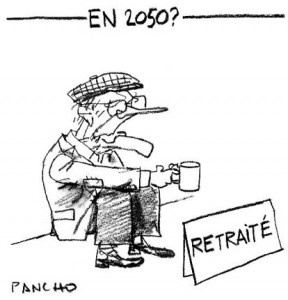 retraite dessin